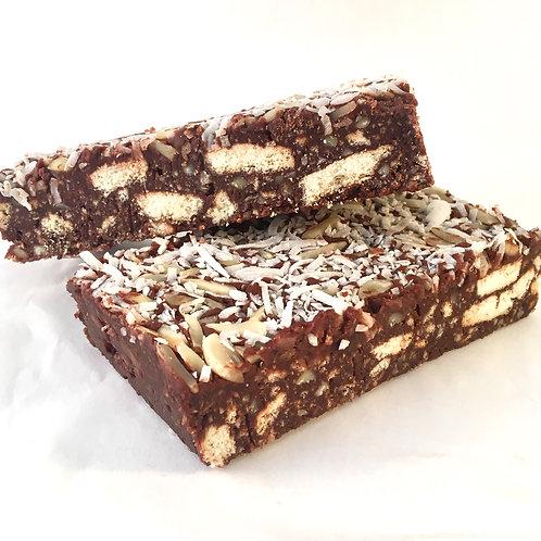 Chocolate hedgehog slice