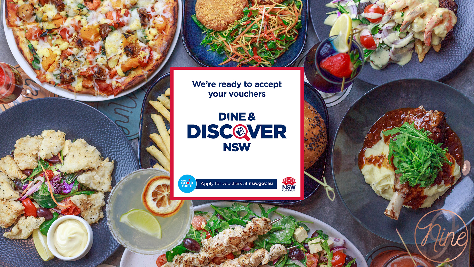 Dine and Discover Nine April 2021 New Me
