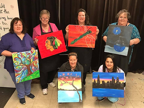 January 9th Open BYOB Painting Session