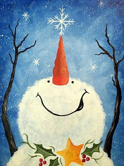 Dec 12th X-MAS BYOB Painting Session