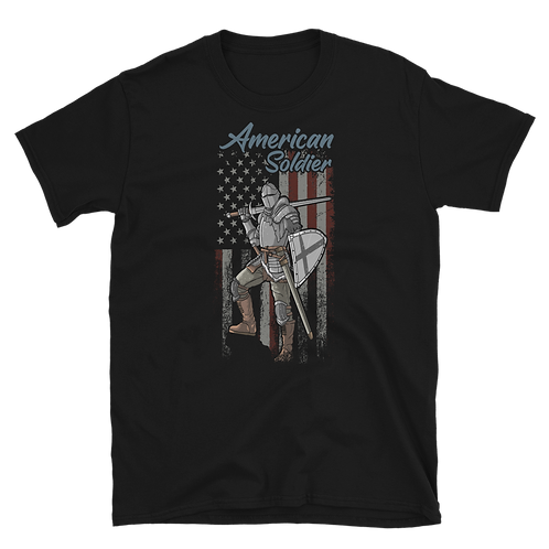 AMERICAN SOLDIER VETERAN'S DAY Unisex T-Shirt
