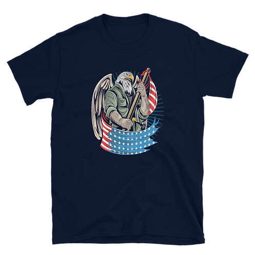 The American Eagle is proudly designed for all occasions Unisex T-Shirt