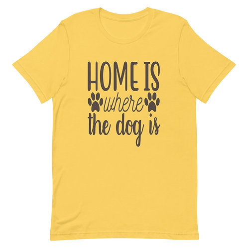 Home is where the dog is🐕❤ Short-Sleeve WomenT-Shirt