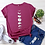 Thumbnail: JFUNCY Plus Size Tshirt S-5xl New Moon Print Shirt Women 100% Cotton ONeck Short