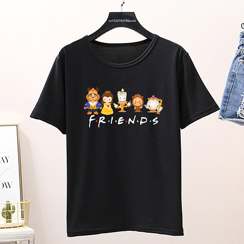 Beauty and the Beast Friends Shirt