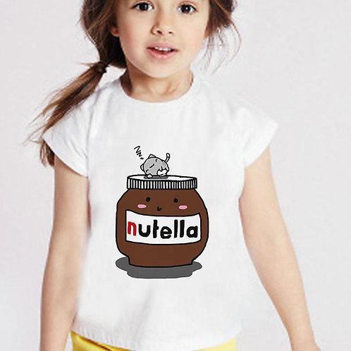Unisex New 2020 Kids Clothes Summer Girls TShirt Cartoon Peanut Butter Baby Girl