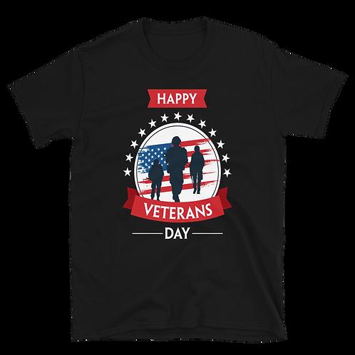 HAPPY VETERANS DAY - Short-Sleeve Unisex T-Shirt