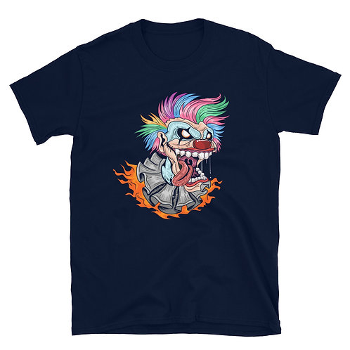 Halloween clown, Halloween day, Halloween party Short-Sleeve Unisex T-Shirt
