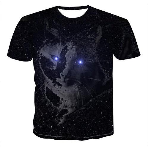 Men 2020 Newest Harajuku Animal 3D Print Cool T-Shirt Men Short Sleeve Summer