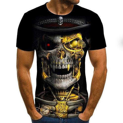 2020  3D Printed TShirt  Men Tshirt Short Sleeve Casual Fashion High-QualityQual