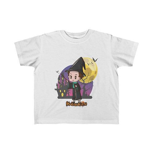 Halloween Day, Halloween Party, Halloween Ghost, Halloween Kid's Fine Jersey Tee
