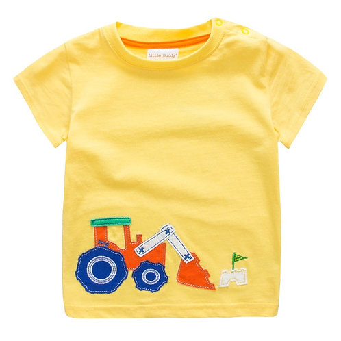 2020 Boys T Shirt Kids Clothes T-Shirt Summer Top Car Tshirt Koszulki Koszulka
