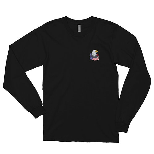 The American Eagle is proudly designed for all occasions Long sleeve t-shirt