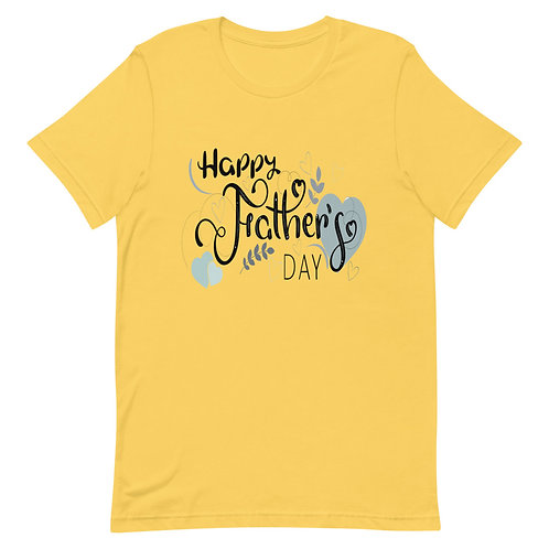 Happy father's day Short-Sleeve Unisex T-Shirt