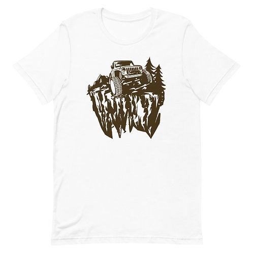 Fans of SUVs, adventure, forests and wild trips -  MenT-Shirt