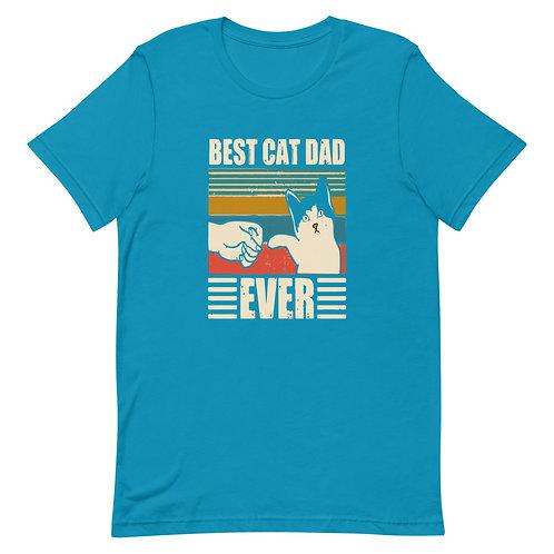 BEST CAT DAD EVER Short-Sleeve Men T-Shirt