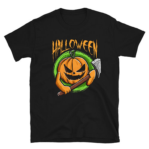 Grumpy Pumpkin with Shiver, Halloween Day, Halloween Party Unisex T-Shirt