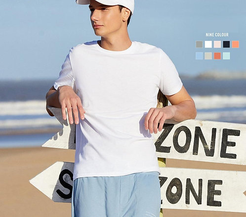 SEMIR Summer Cotton TShirts Men 2020 Simple Tshirt Man Streetwear Ice CoolXs-2xl