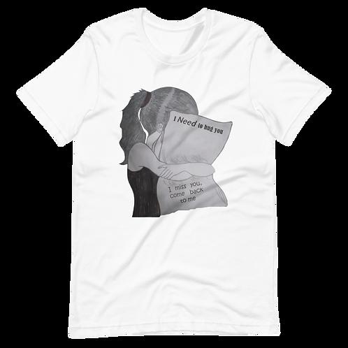 I Miss You I need to hug U -  Short-Sleeve Women T-Shirt