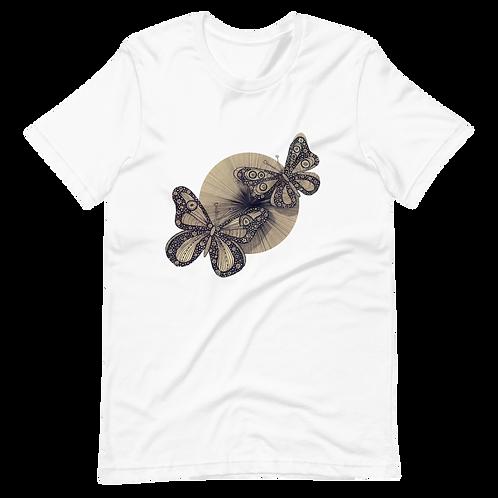 Hand-painted butterflies - Short-Sleeve Women T-Shirt
