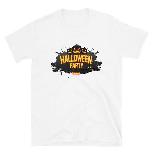 Halloween Party phrase, suitable for Halloween day Short-Sleeve Unisex T-Shirt