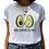 Thumbnail: Avocado Harajuku Kawaii Cartoon T Shirt Women Ullzang Small Fresh T-Shirt 90s