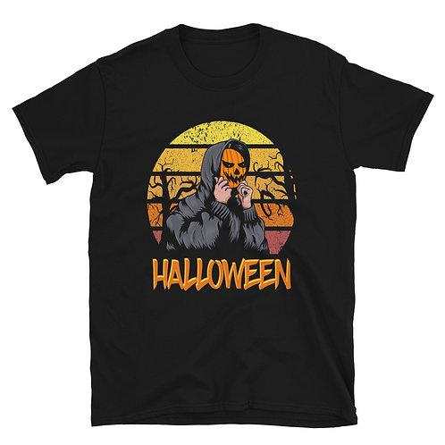 Pumpkin mask,Halloween Day,Halloween Tshirt for women and men,Halloween party