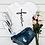 Thumbnail: Women Leopard Heartbeat Short Sleeve Print Clothes Ladies Womens TShirt Graphic