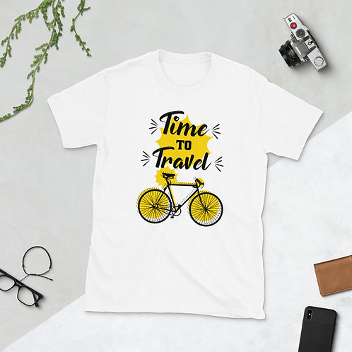 Time to Travel Short-Sleeve Unisex T-Shirt