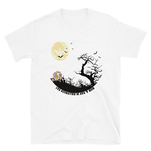 MOM & DAD in Halloween day Short-Sleeve Unisex T-Shirt