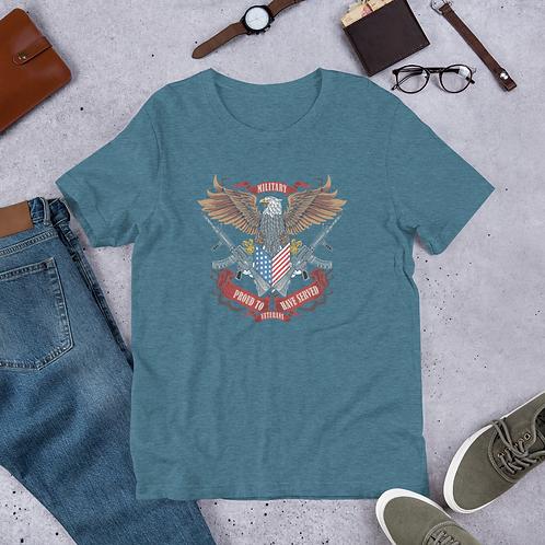 PROUD TO HAVE SERVED A Veteran Short-Sleeve Men T-Shirt 11th, Nov