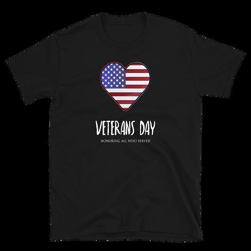 VETERAN'S DAY WE LOVE THIS DAY Short-Sleeve Women T-Shirt
