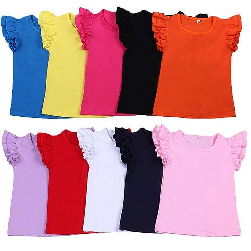 Kids T Shirts 2020 Spring Summer Baby Girls Short Sleeve New Girls Tshirt