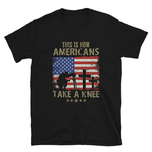This is How Americans Take A knee Unisex T-Shirt