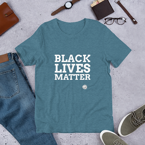 Black Lives Matter T-Shirt - Movement Shirt  Adult and Youth Short-Sleeve Unisex