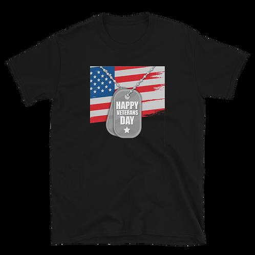 HAPPY VETERAN'S DAY Short-Sleeve Unisex T-Shirt