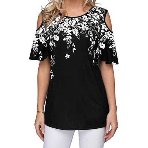 New 2020 Women Summer Loose T Shirt Casual Short Sleeve  T-Shirt Plus Size S-5xl