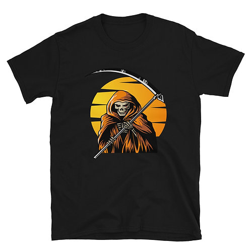 Skeleton with a scythe, Halloween day , Halloween T shirt for women and men