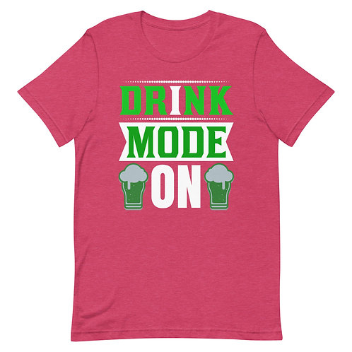 Drink mode ON🍻👌 Short-Sleeve men T-Shirt
