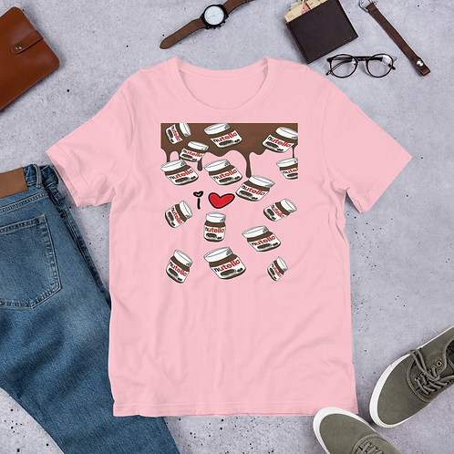 I love Nutella Short-Sleeve Women T-Shirt