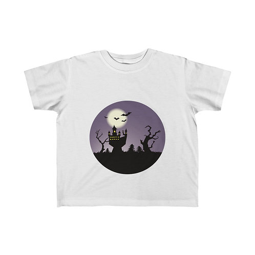 Halloween Party , Halloween Ghost, Halloween Day, Kid's Fine Jersey Tee