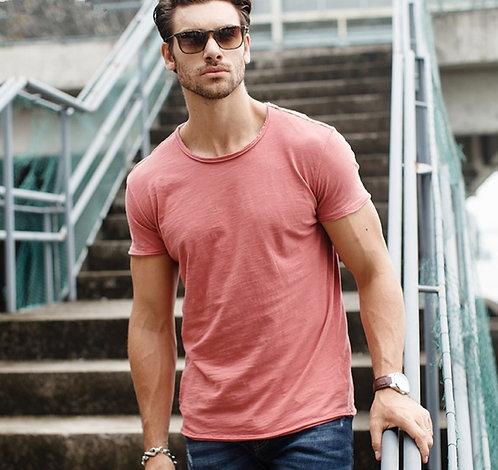 2020 Summer 100% Cotton T Shirt Men Casual Soft Fitness Shirt Men