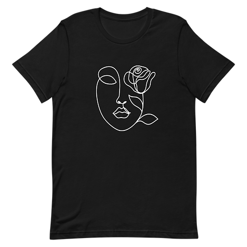 Face Abstract T Shirt-Picasso-Single Line Drawing-Aesthetic-Feminine T shirt