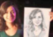 скетчи портреты