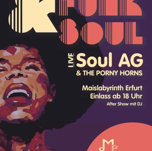 Funk&Soul mit der Soul AG