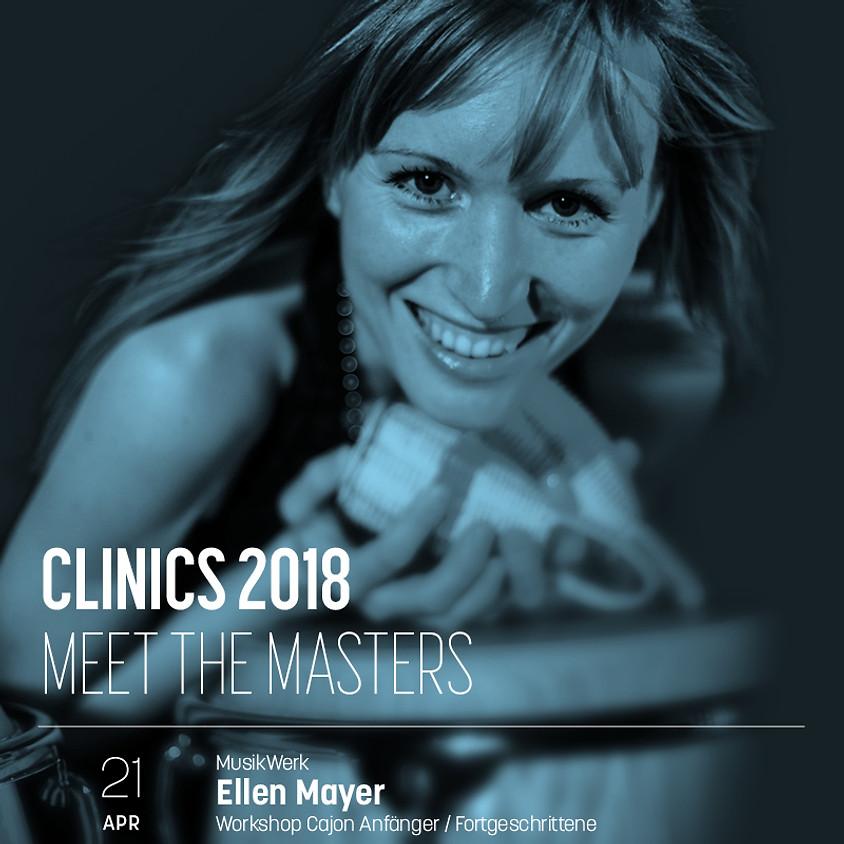 Cajon-Workshop mit Ellen Mayer