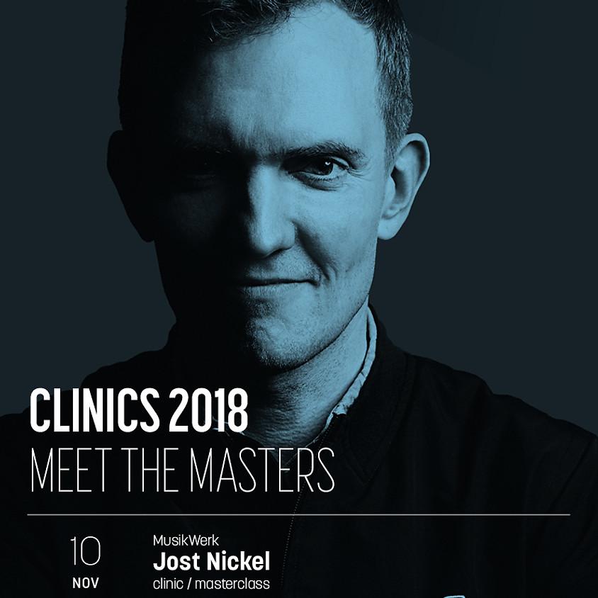 CLINIC & Masterclass für Schlagzeug mit Jost Nickel