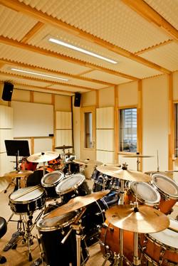 MusikWerk Musikschule Erfurt Schlagzeugraum