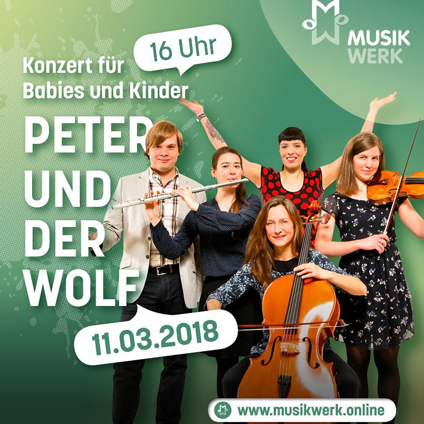 AUSVERKAUFT! Konzert für Babies und Kinder - Peter und der Wolf