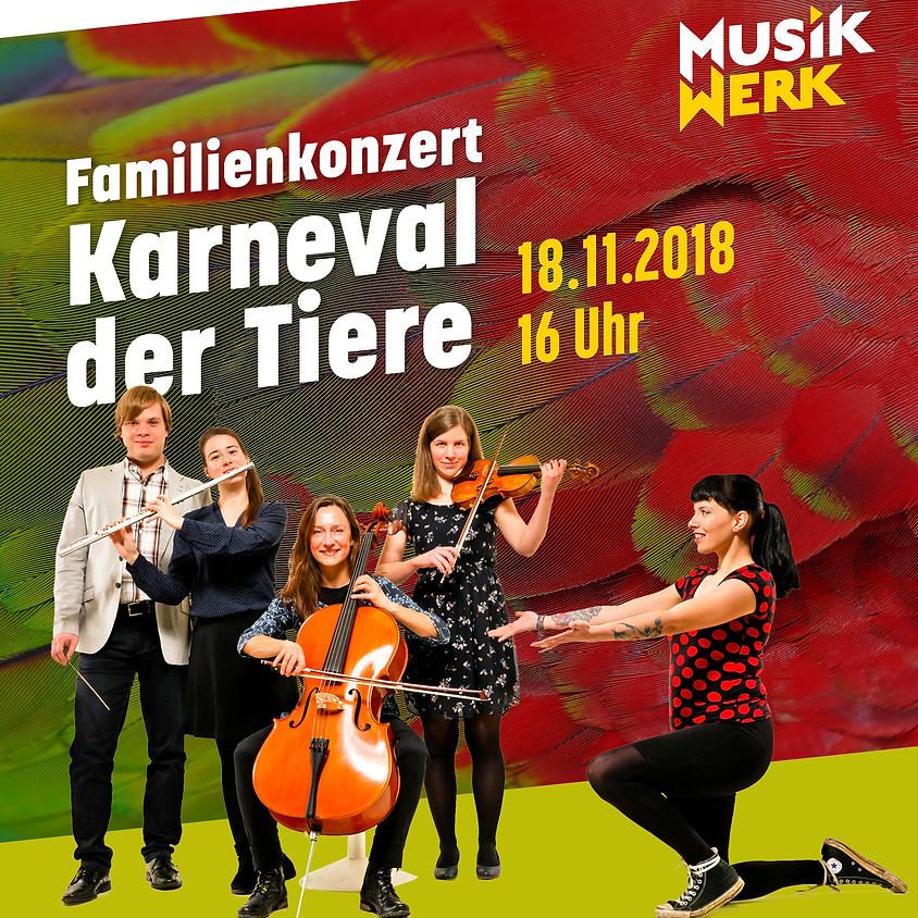 """Familienkonzert """"Karneval der Tiere"""" - kostenfreie Familienpassvorstellung"""